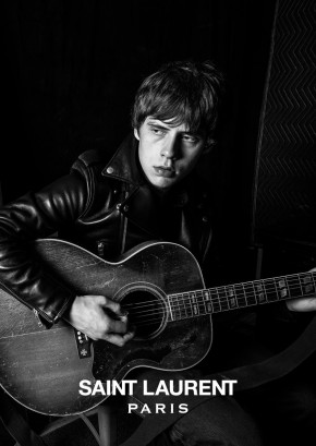 Jake Bugg Saint Laurent Music Project Hedi Slimane Leather Biker Jacket