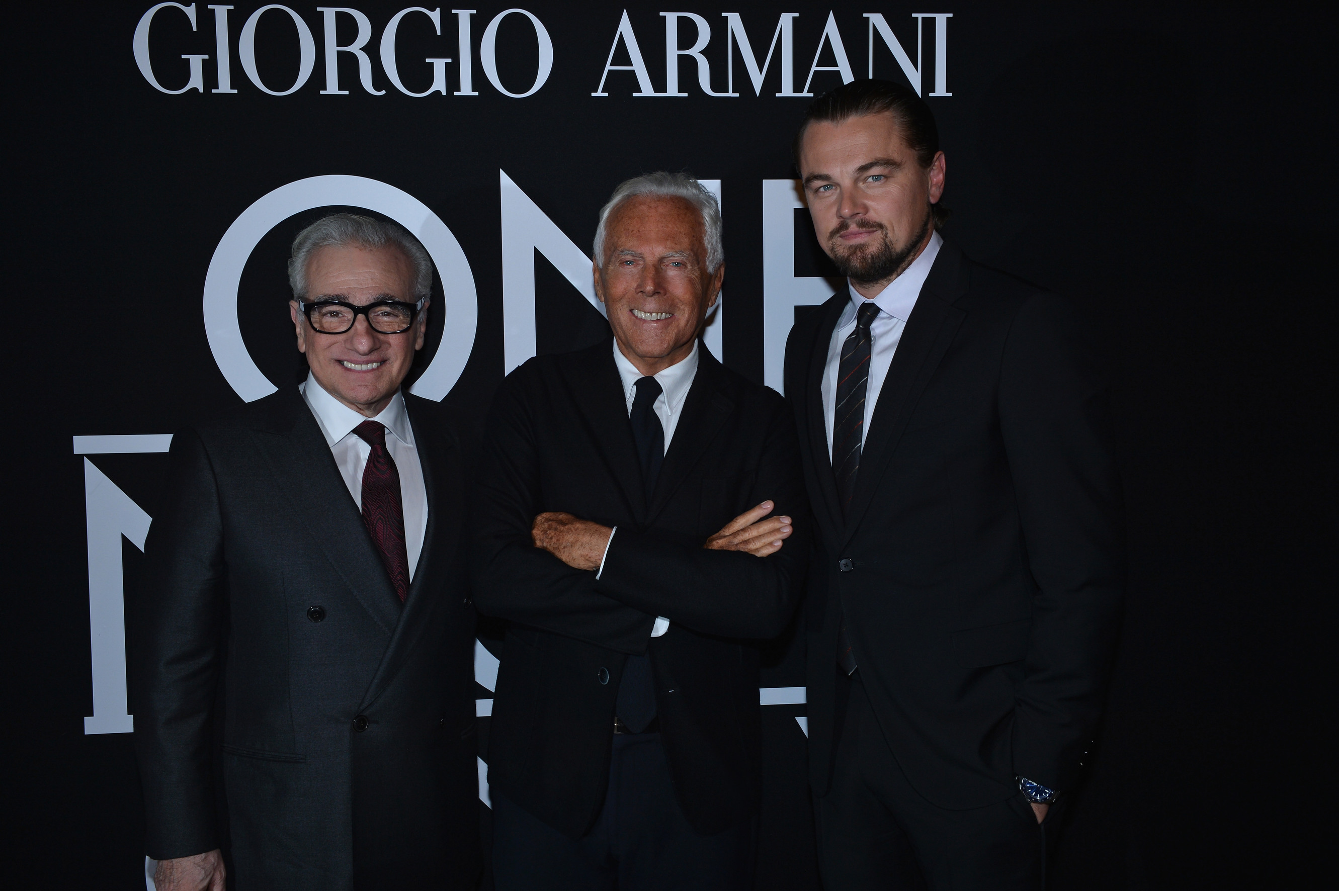 Giorgio Armani Collaborates with Martin Scorsese for 'The Wolf of Wall Street'