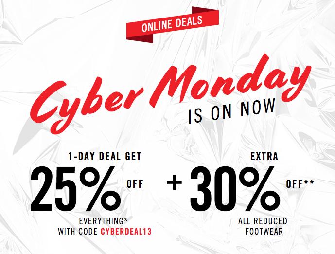 ALDO Cyber Monday Sale