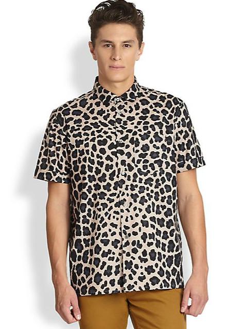 Marc by Marc Jacobs London Leopard Sportshirt