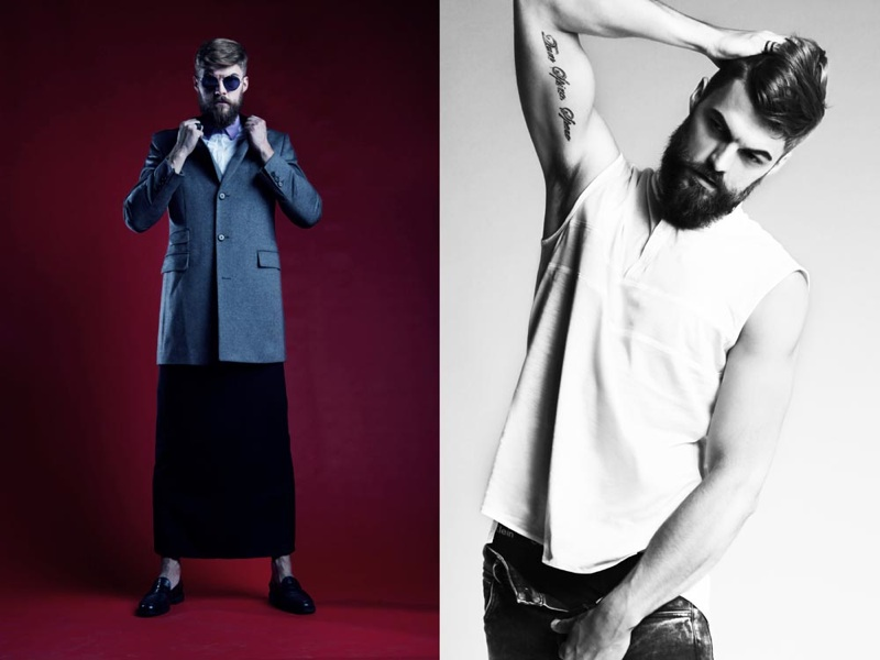 Adam Link & Jarek N by Agata Mayer