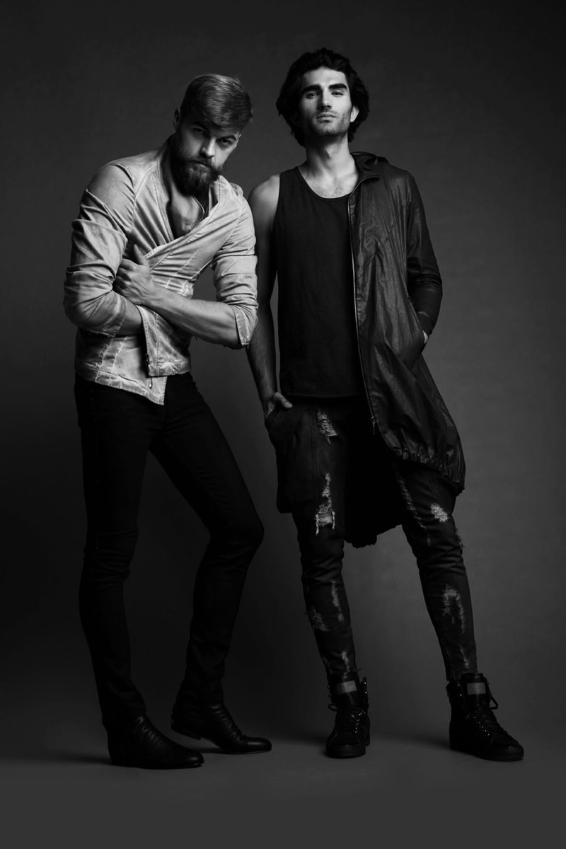 Adam Link & Jarek N by Agata Mayer