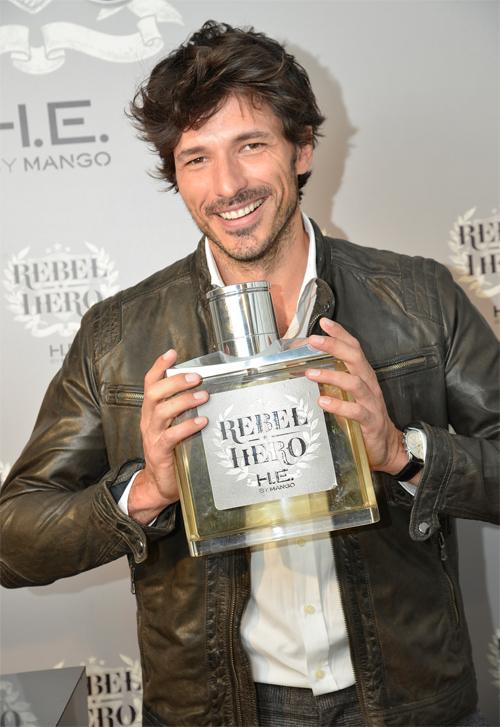 Andres Velencoso Segura 'Rebel Hero' H.E. by Mango Fragrance Campaign