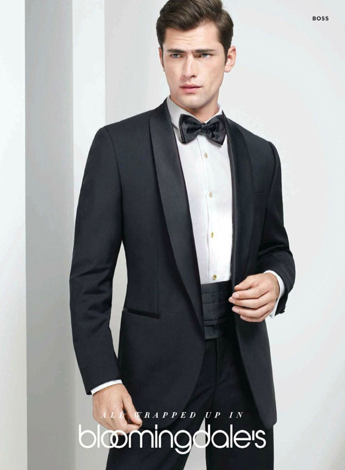 Sean O'Pry Dresses Up for Bloomingdale's