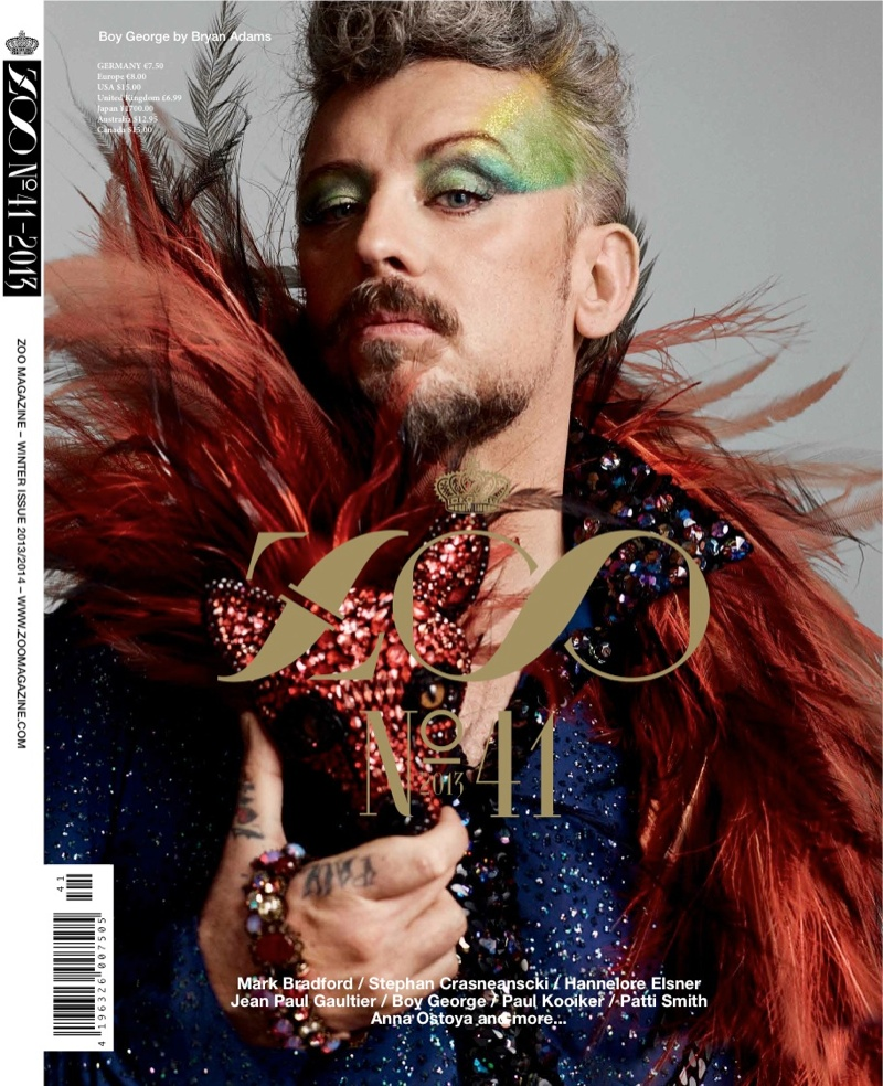Boy George ZOO Cover Jean Paul Gaultier