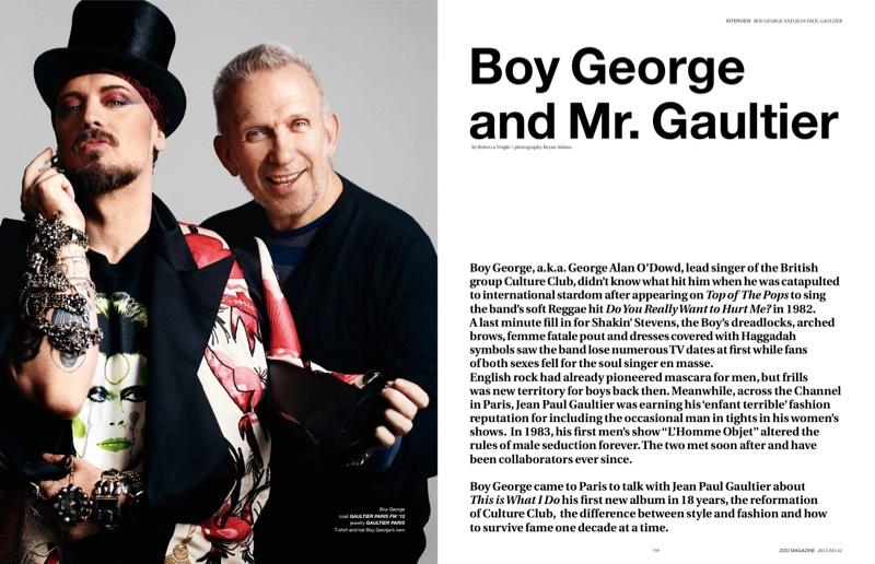 Boy George Jean Paul Gaultier