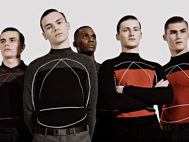 Henry Pedro-Wright, O'Shea Robertson, Harry Pulley + More in Dior Homme F/W '13 for Metal