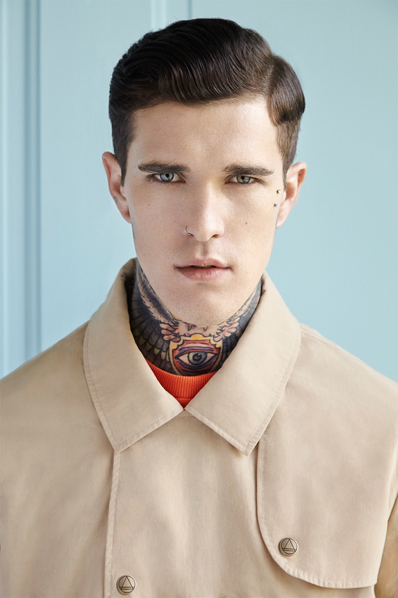 Portrait   Jimmy Q by Marek Chorzepa   The Fashionisto