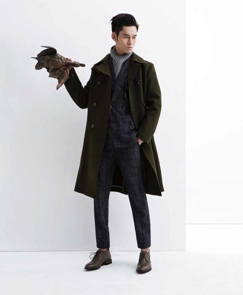Chao Zhang, Weijian Li & Zhen Li Sport Coats for Esquire China Big ...