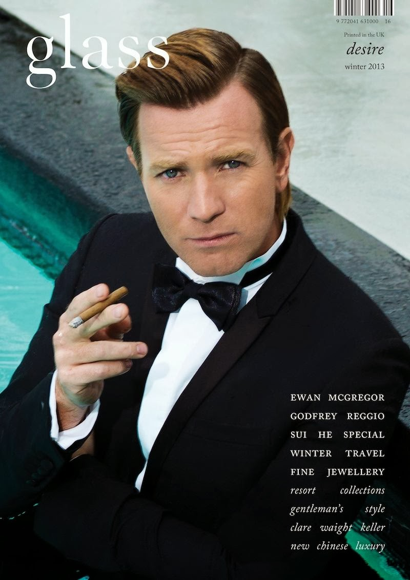 Ewan McGregor Glass Magazine