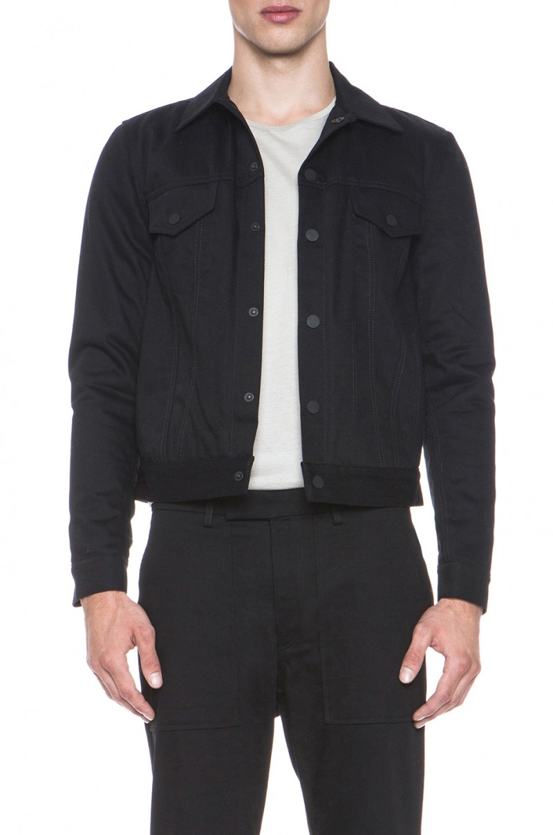 Acne Jam Bat Jacket in Black