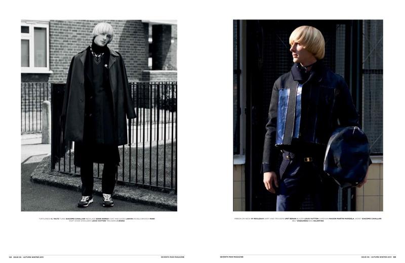 Frederik Meijnen Dons Winter Layers for Seventh Man