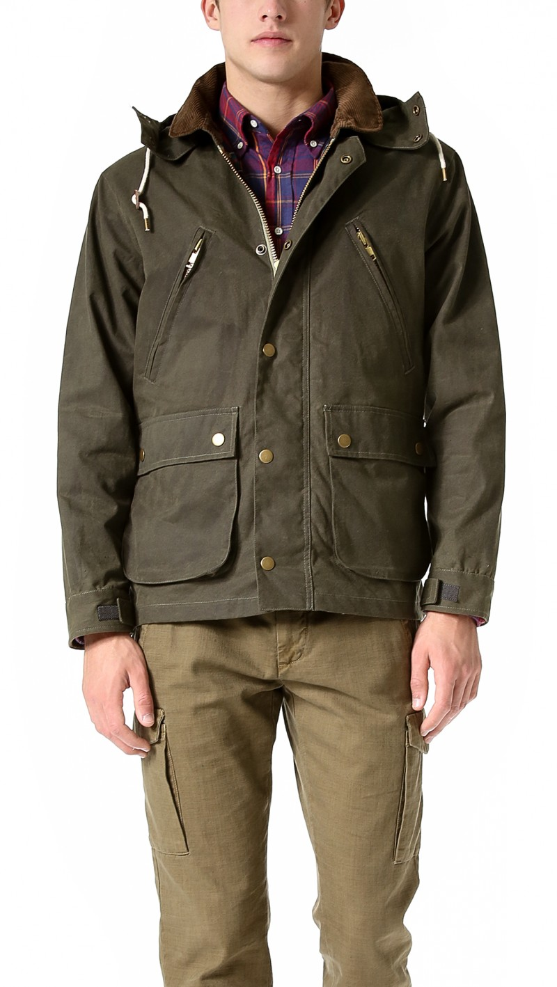 GANT Rugger Wax Your Back Coat