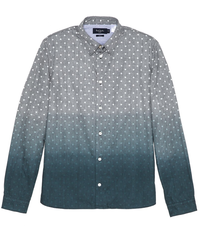 Paul Smith Jeans Ombre Dot Shirt