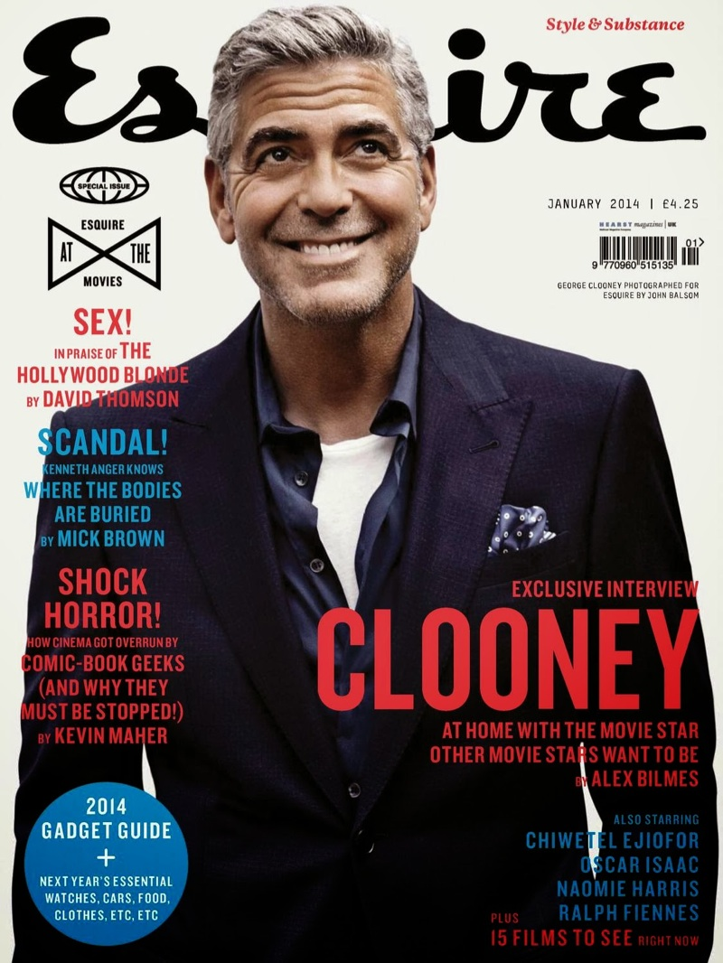 George Clooney Esquire UK