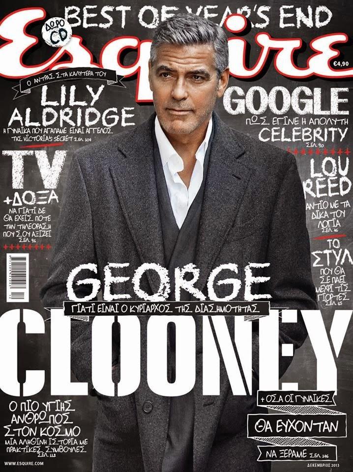 George Clooney Esquire Greece