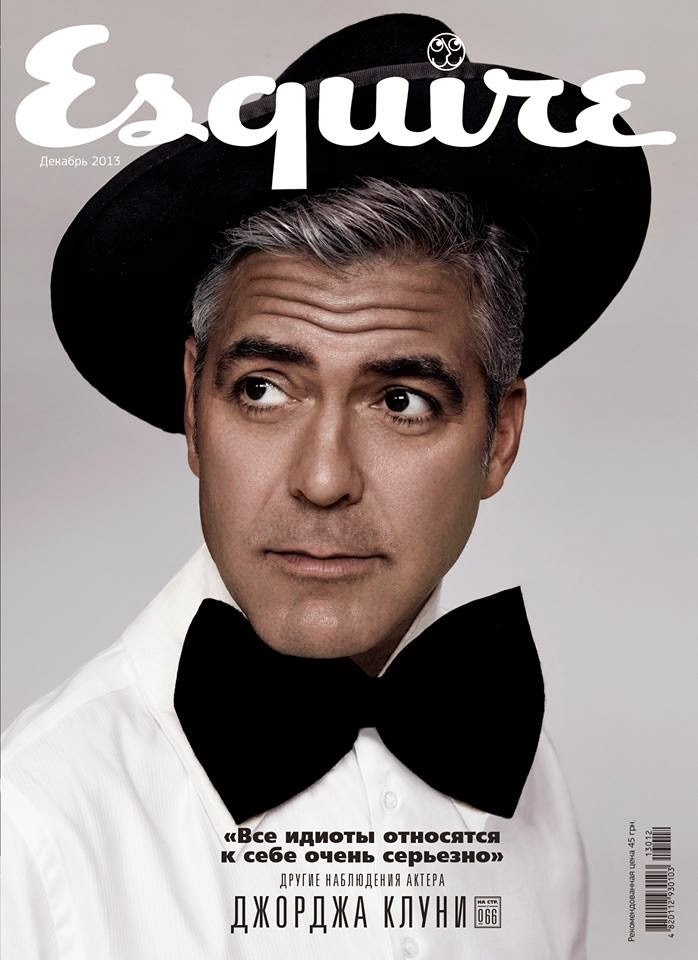 George Clooney Esquire Ukraine