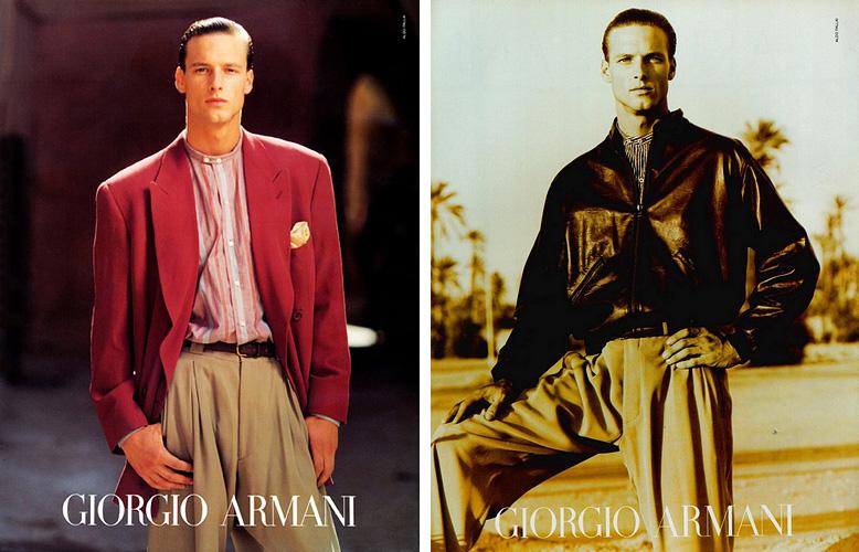 Giorgio Armani Spring/Summer 1992 Campaign John Adams Photo