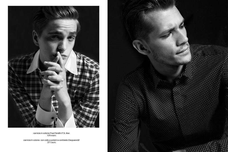 Simone Nobili, Kacey Carrig, John Todd + More Don Menswear Essentials for GQ Italia