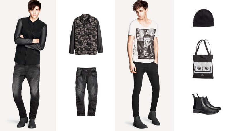 Outlet zu verkaufen kinder Weg sparen Alex Dunstan Rocks New Looks for H&M Divided Grey | The ...