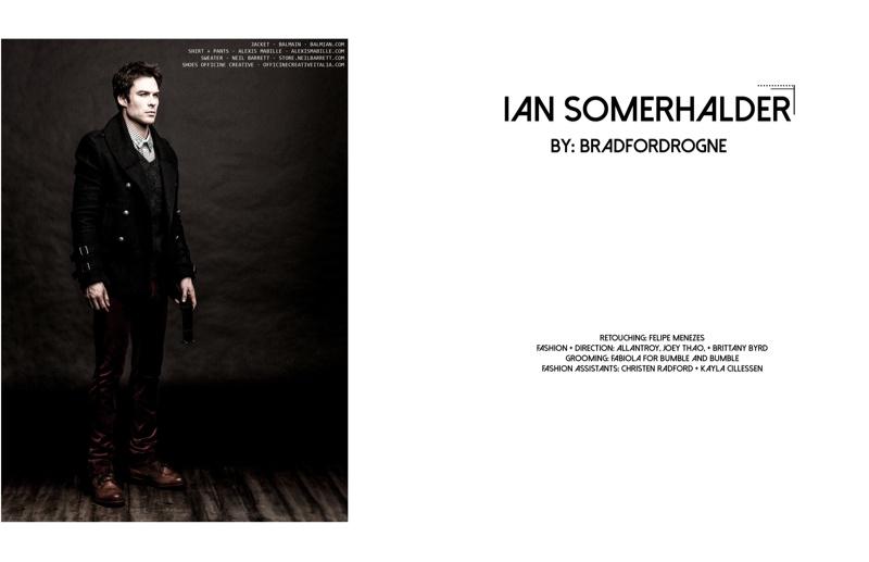 Ian Somerhalder style