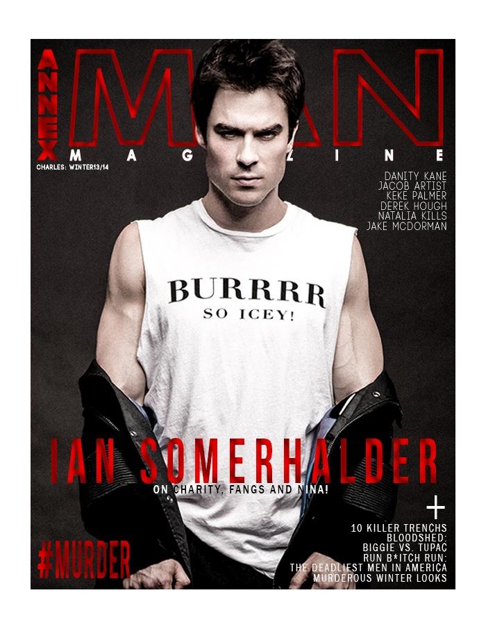 Ian Somerhalder Cover