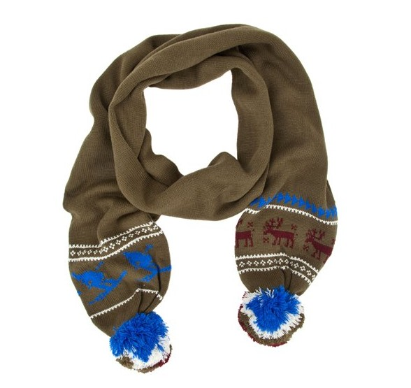 Marc Jacobs Holiday Pom Scarf