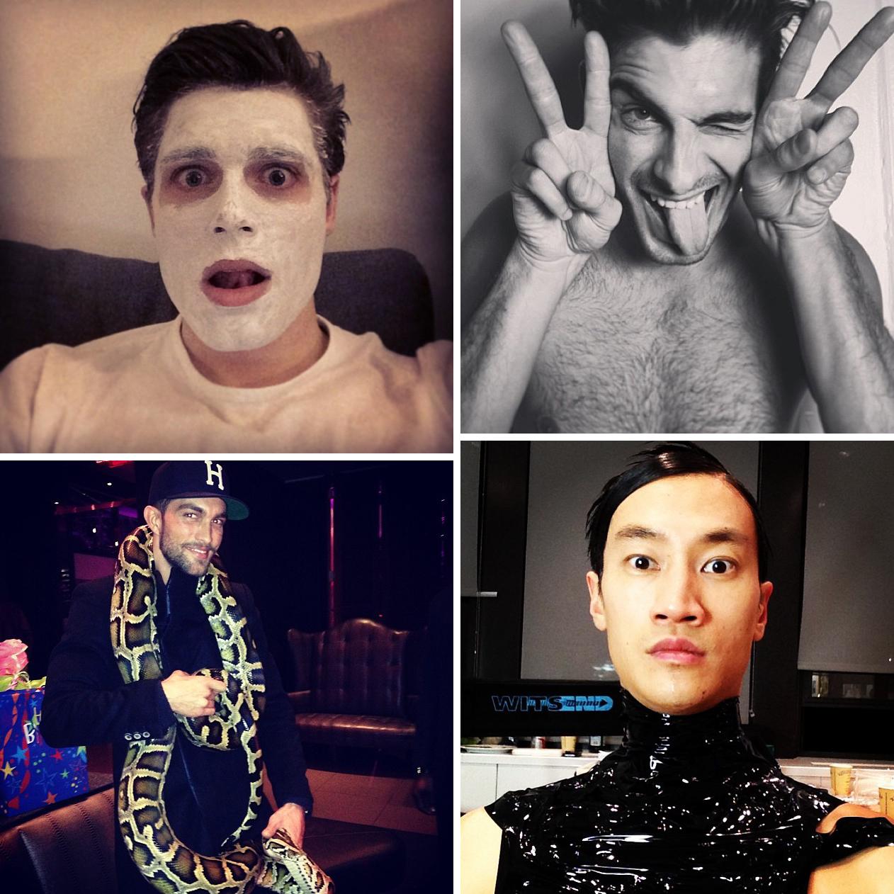Instagram Photos of the Week | Baptiste Giabiconi, Garrett Neff, Sebastian Sauve + More Model Pics