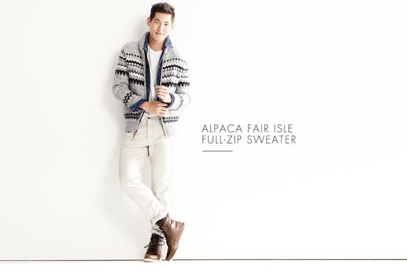 Jae Yoo Wears 7 Cozy Sweaters for J.Crew