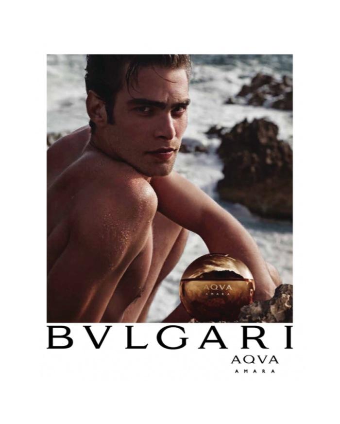 Jon Kortajarena for BVLGARI Fragrance Campaign