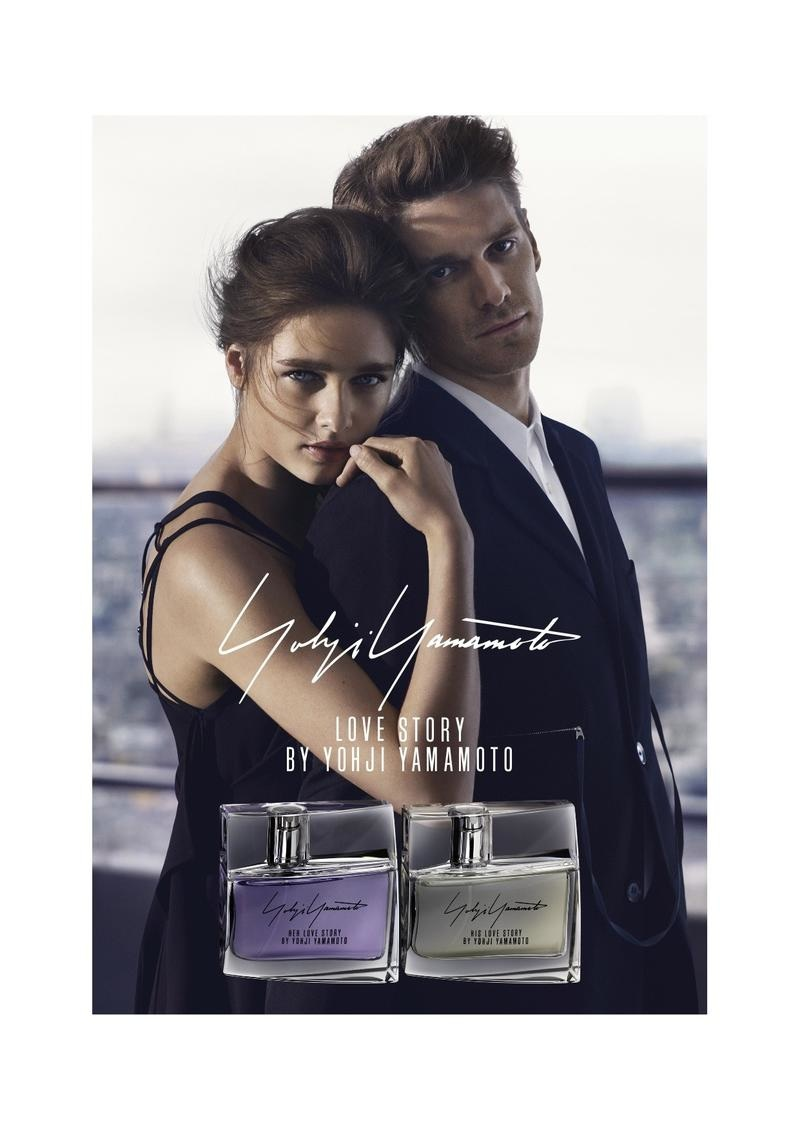 love story by yohji yamamoto fragrance campaign the