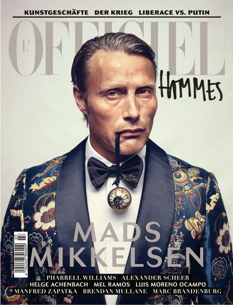 L'Officiel Hommes Germany Mads Mikkelsen