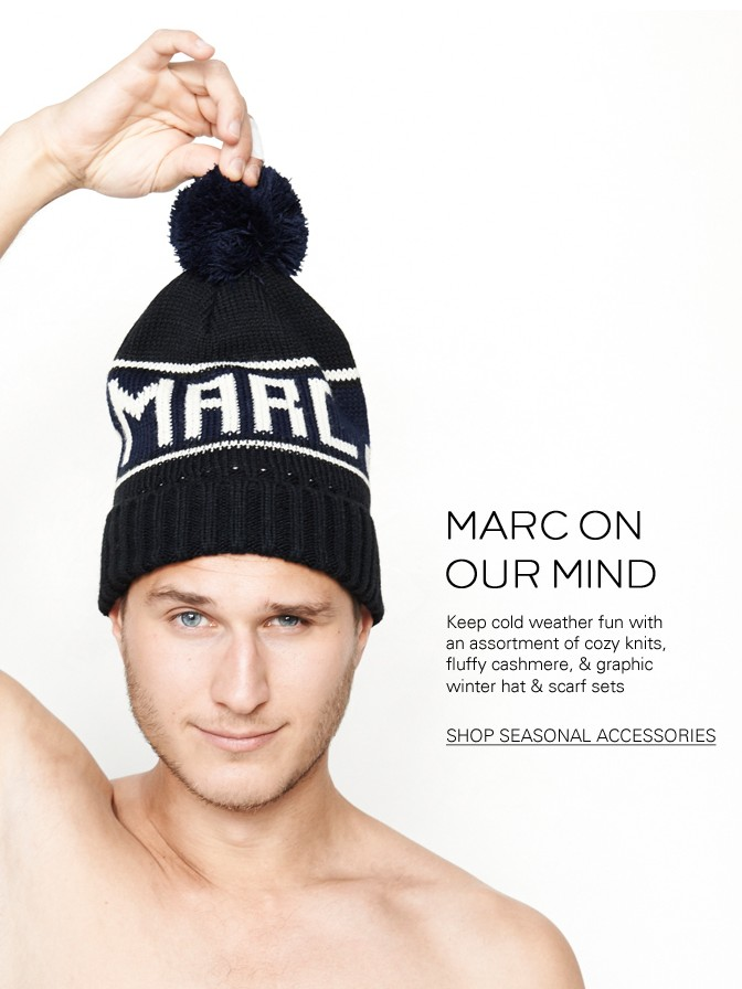 Marc Jacobs Cashmere Winter Accessories