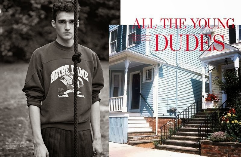 Anders Hayward, Elliot Vulliod, Otto Lotz & Gustav Swedberg are 'Young Dudes' for Man About Town