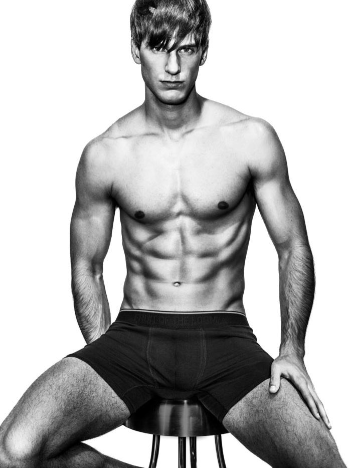 Manuel Vega Dons Designer Underwear for WWD