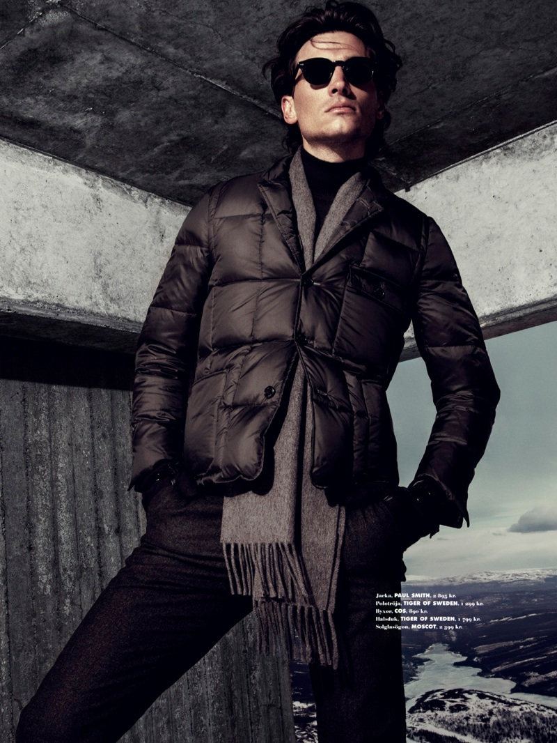Matt Clunan Braces for the Cold with King Magazine
