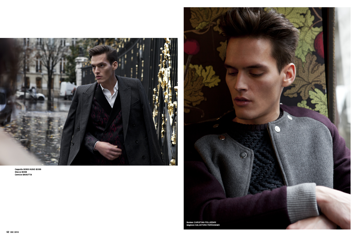 Christopher Michaut is a Sartorial Vision for Maxim Italia