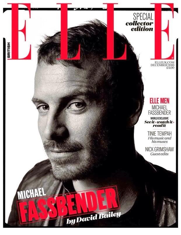 Michael Fassbender Shot for Special Edition of Elle UK