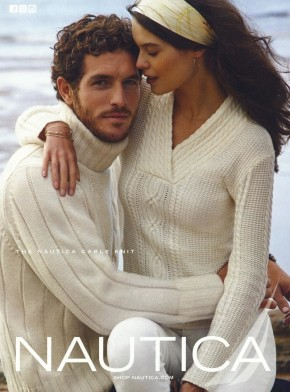 Justice Joslin for Nautica Holiday 2013 Campaign