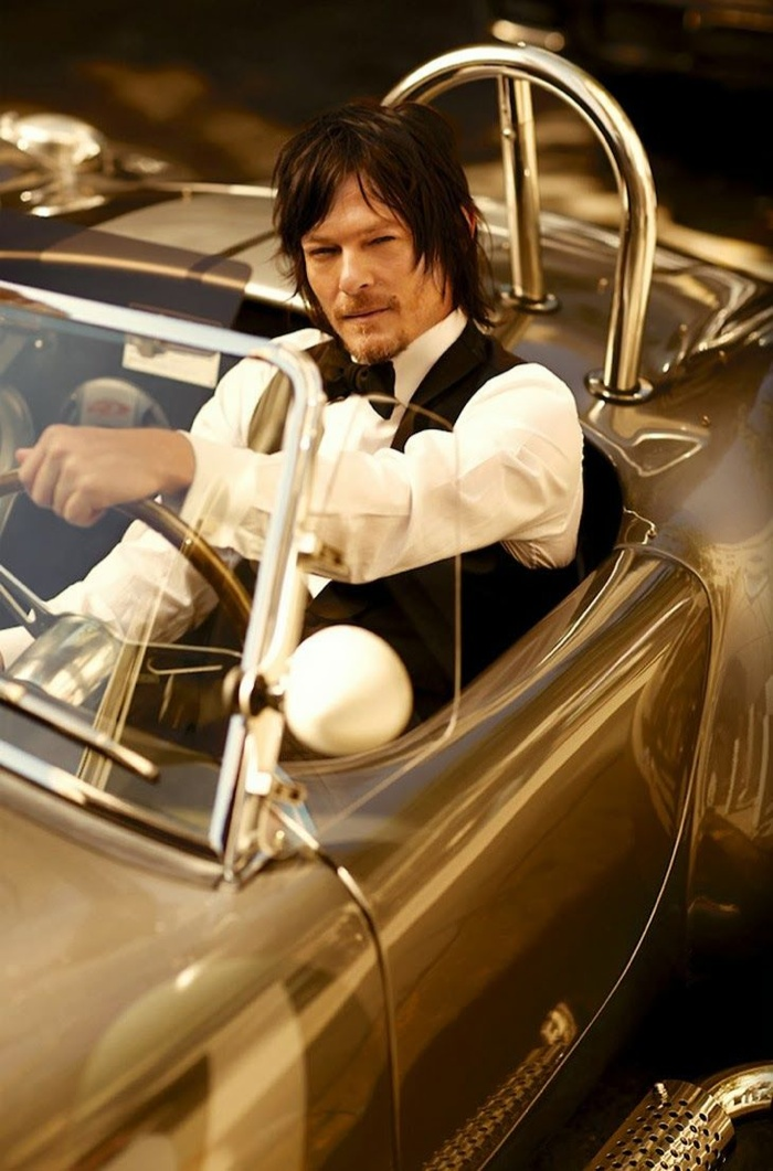 Norman Reedus Appears in the January Issue of GQ Japan
