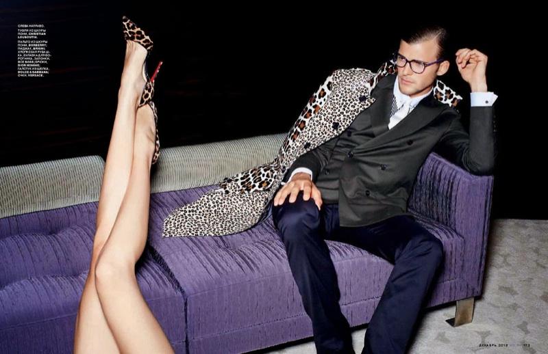 Patrick Kafka is a Dashing Playboy for GQ Russia