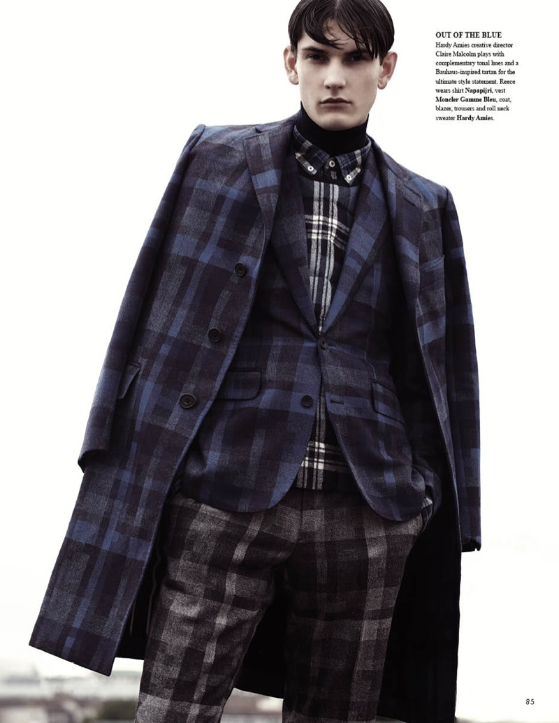 Reece Sanders is 'Tangled Up in Plaid' for Fashionisto #9