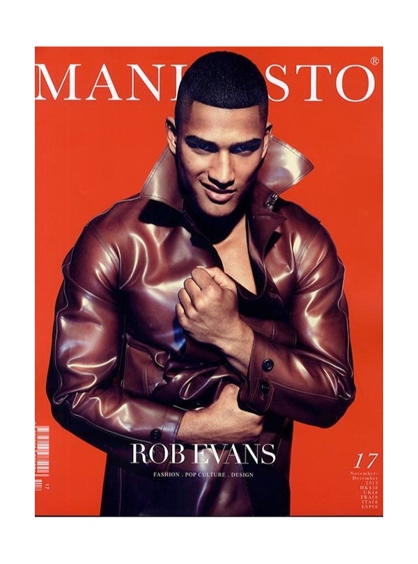 Rob Evans Covers Manifesto