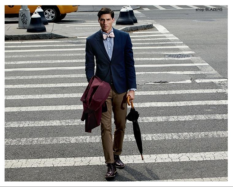Ryan Kennedy Models 4 Ways to Wear the Blazer for East Dane