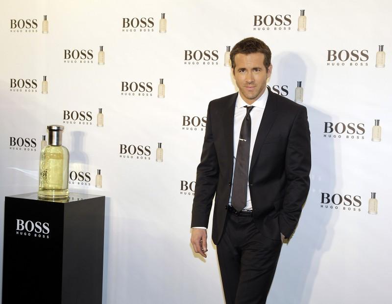 Ryan Reynolds Hugo Boss