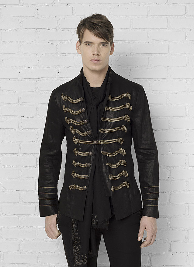 Hendrix Multi Button Rope Jacket