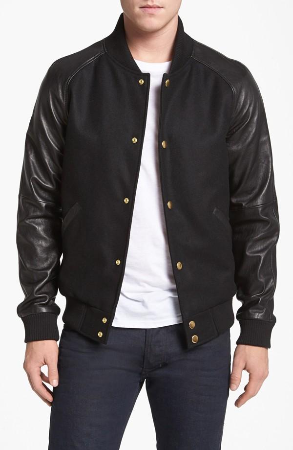 7 Diamonds 'Vaprio' Varsity Jacket