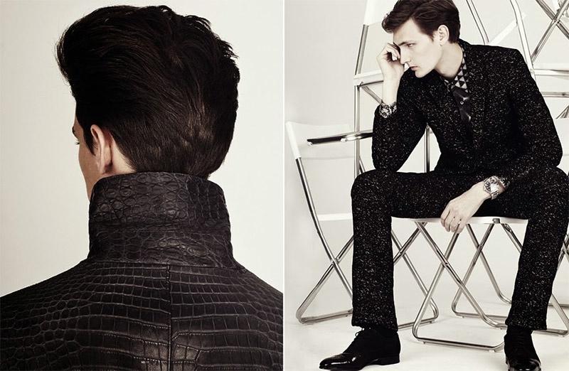 Adrian Wlodarski, Yannick Abrath & Youri Dedeurwaerder Impress in Black for SID Magazine
