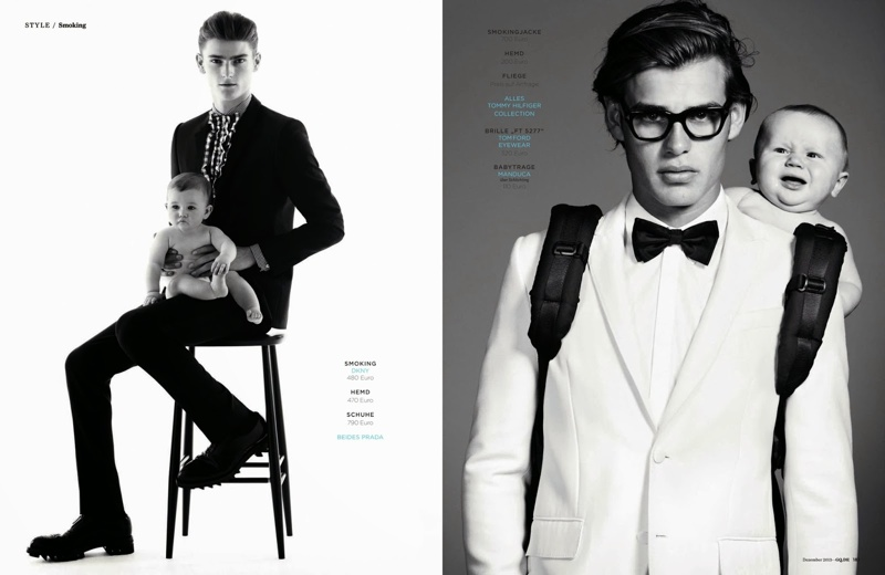 Ryan Barrett, Charlie France, Matt Trethe + More Pose with Babies for GQ Germany