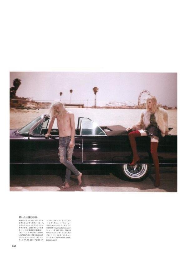 Dylan Fosket & Erik Andersson for Vogue Japan